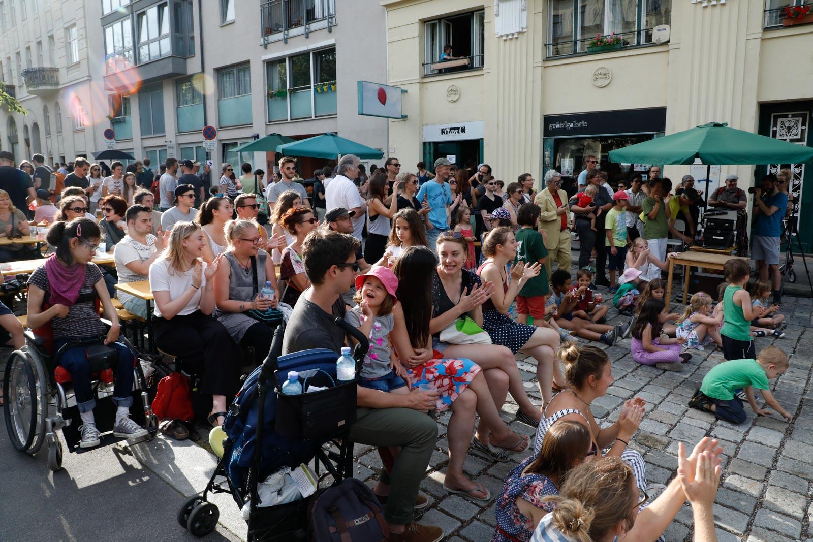 Sommerfest im Nibelungenviertel