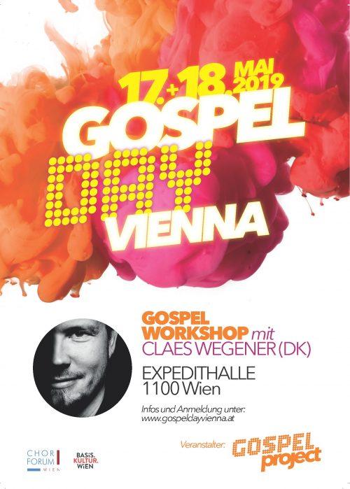 Gospel Day Vienna - Workshop (Teilnahme freiwillig)