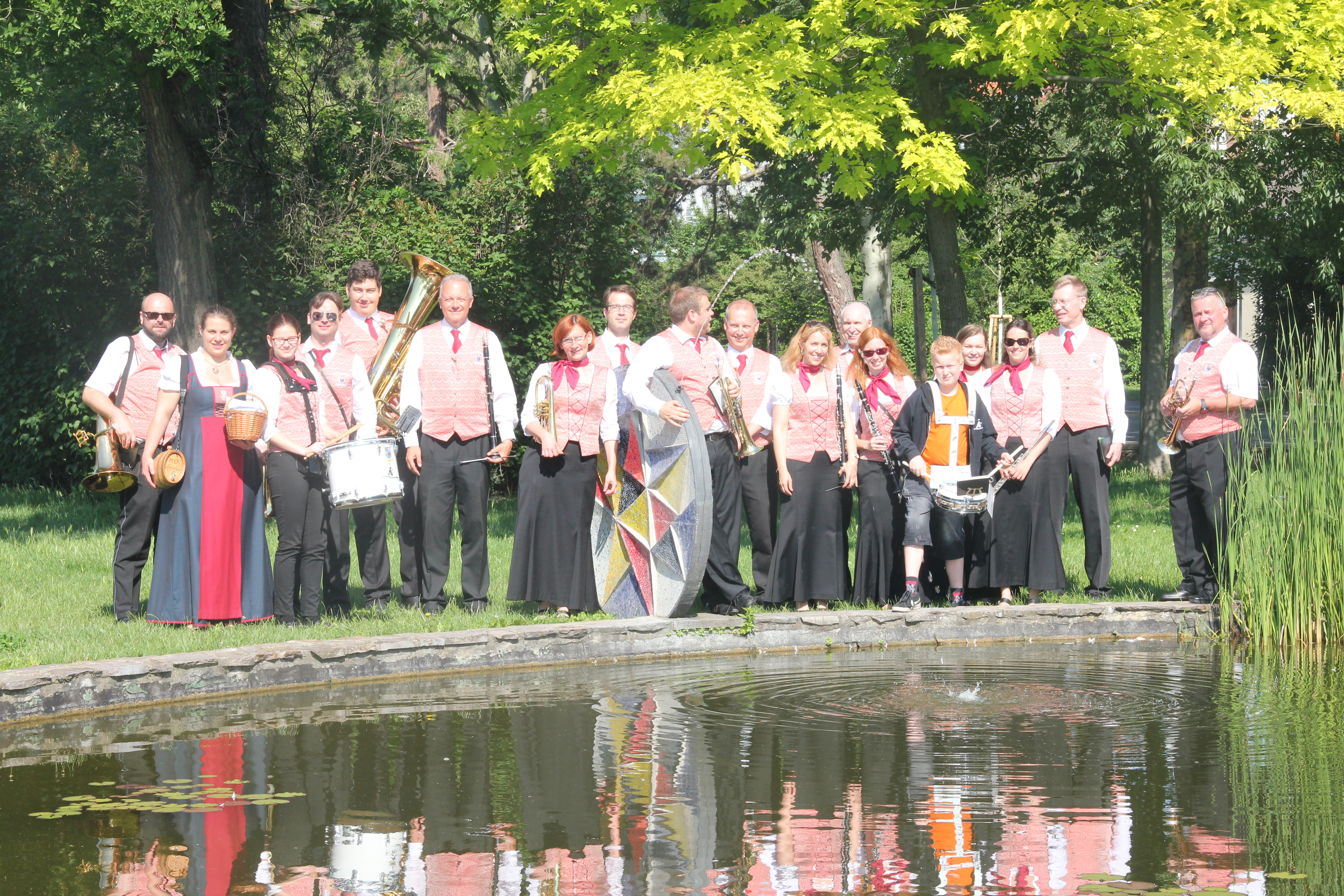 Sommerfest des Musikvereins Leopoldau