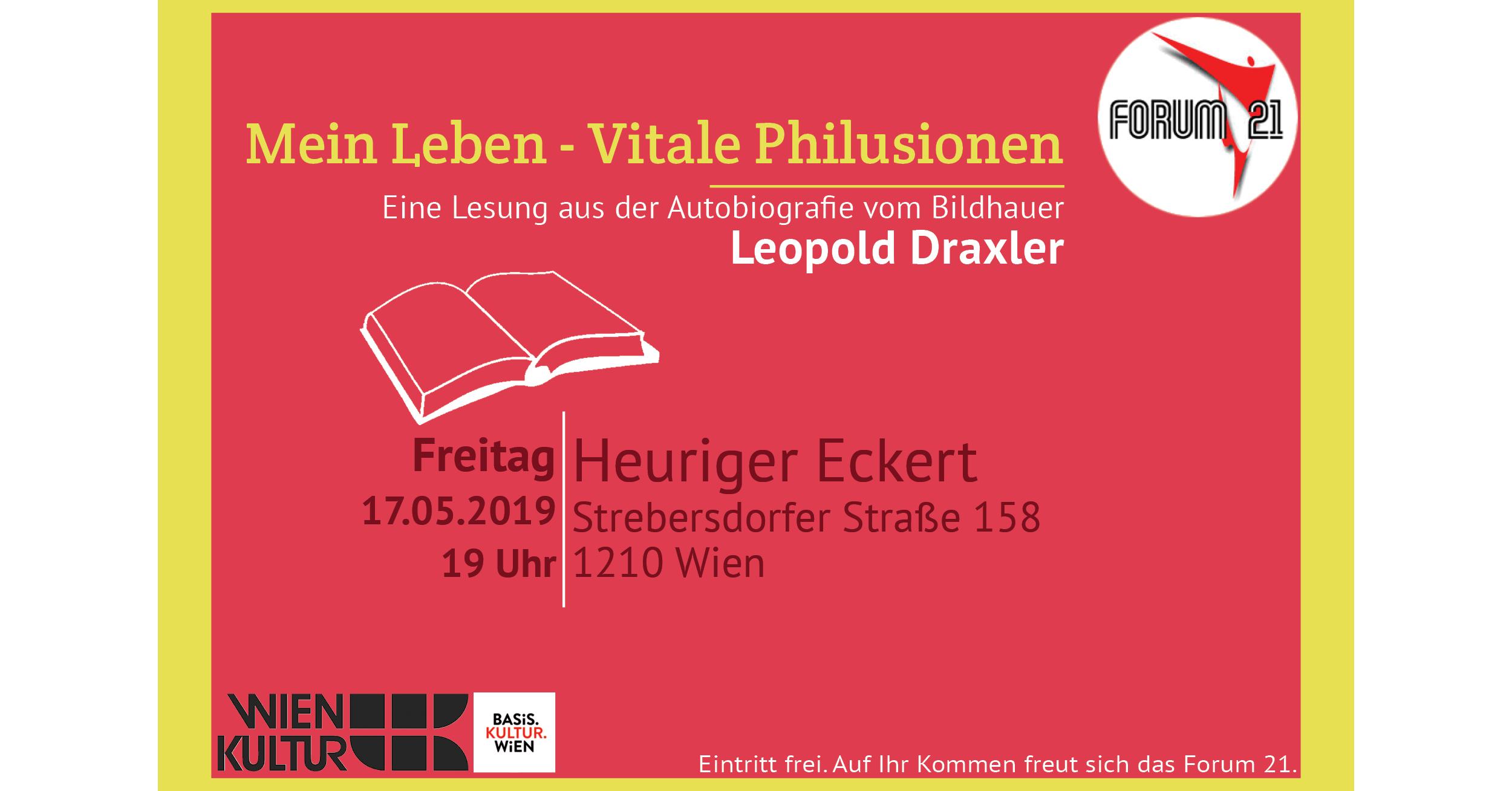 Lesung mit Leopold Draxler