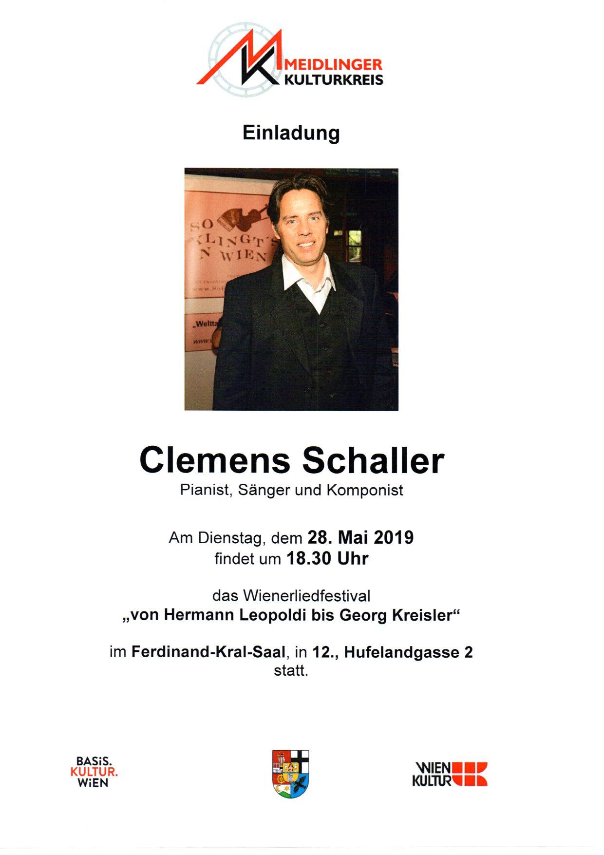 Wienerliedfestival - Clemens Schaller
