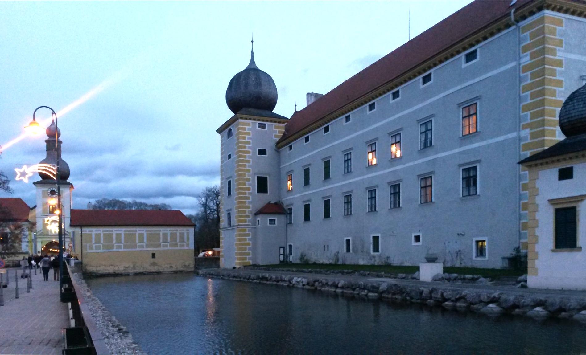 Busfahrt zum Wasserschloss Kottingbrunn
