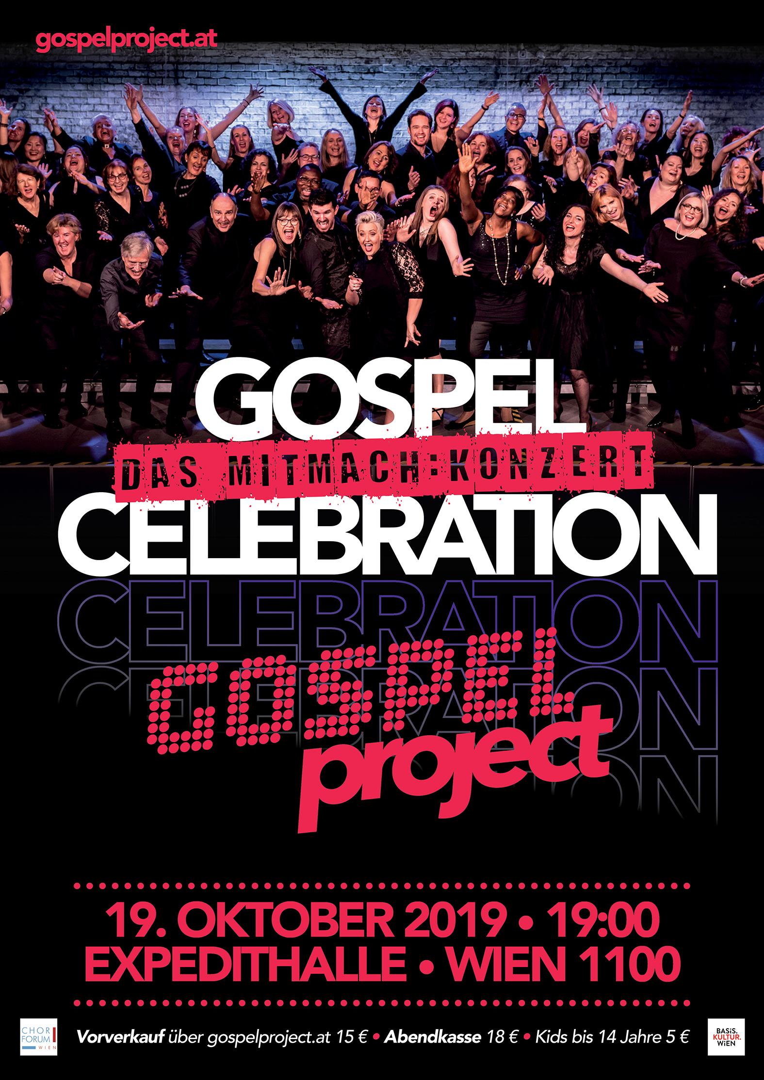 Gospel Celebration -  Das Mitmachkonzert