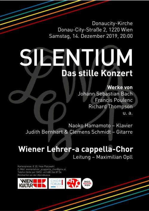 Wiener Lehrer-a cappella-Chor - Silentium