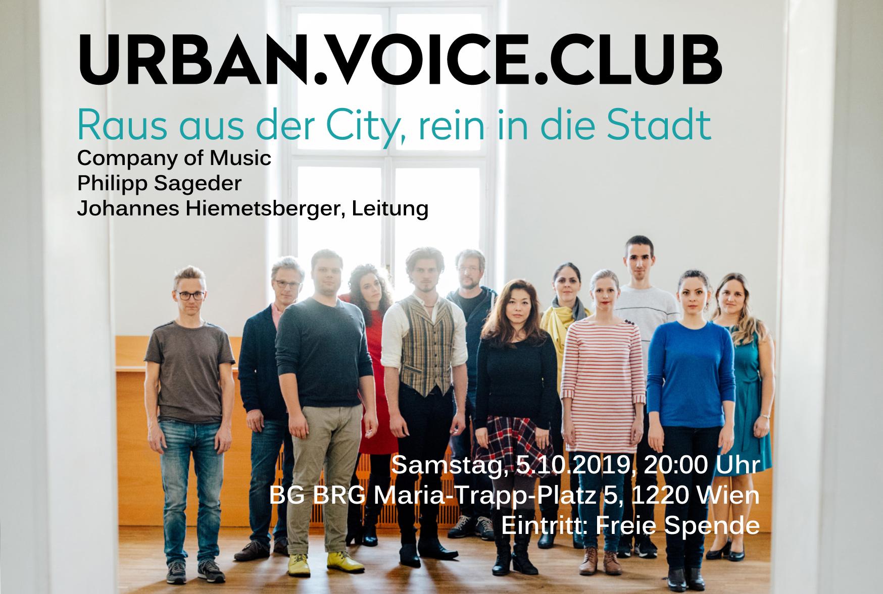 Urban Voice Club I - Ligeti beatboxt die Seestadt wach