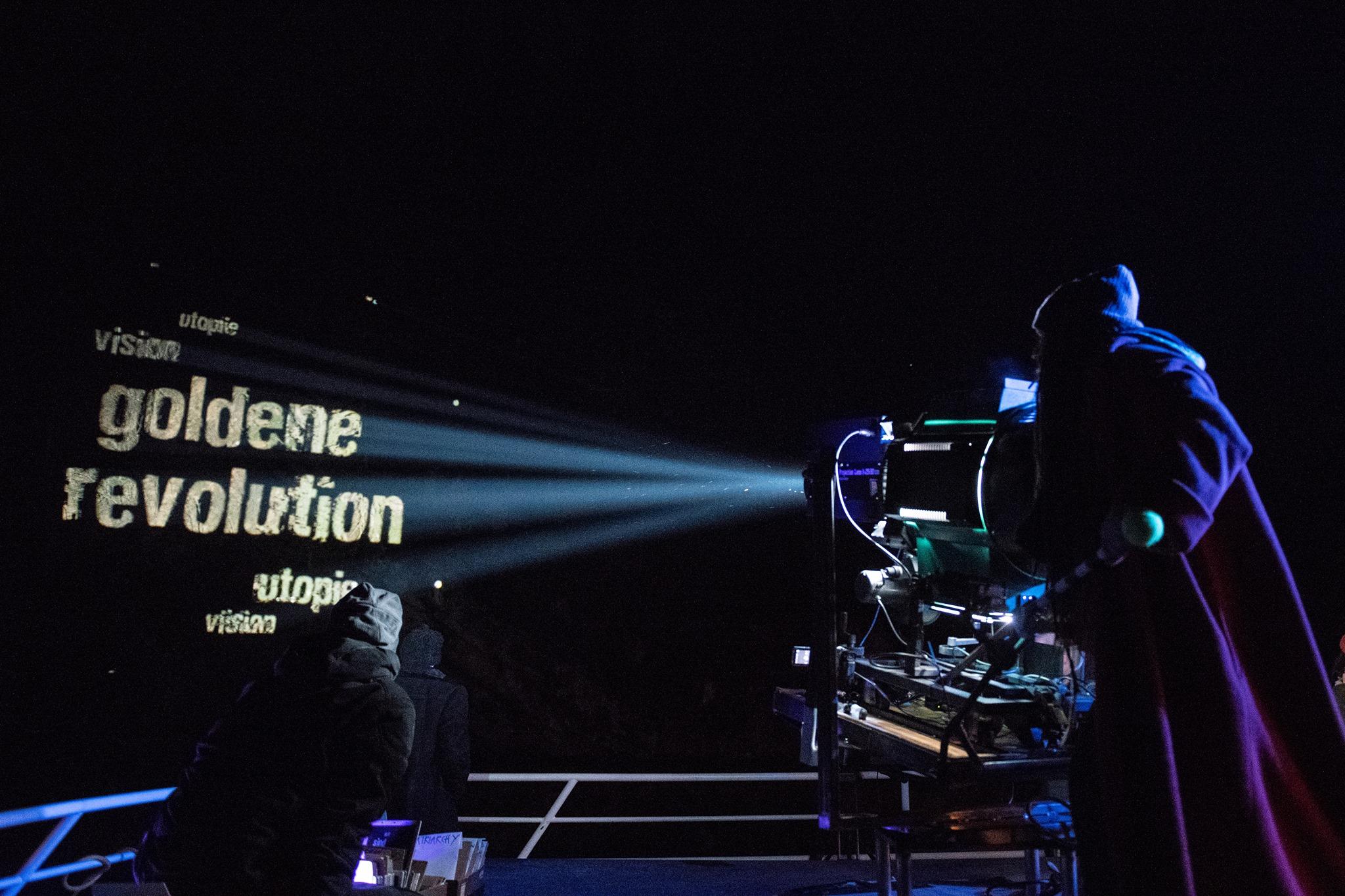 Wir sind vision ! wir sind die goldene revolution !