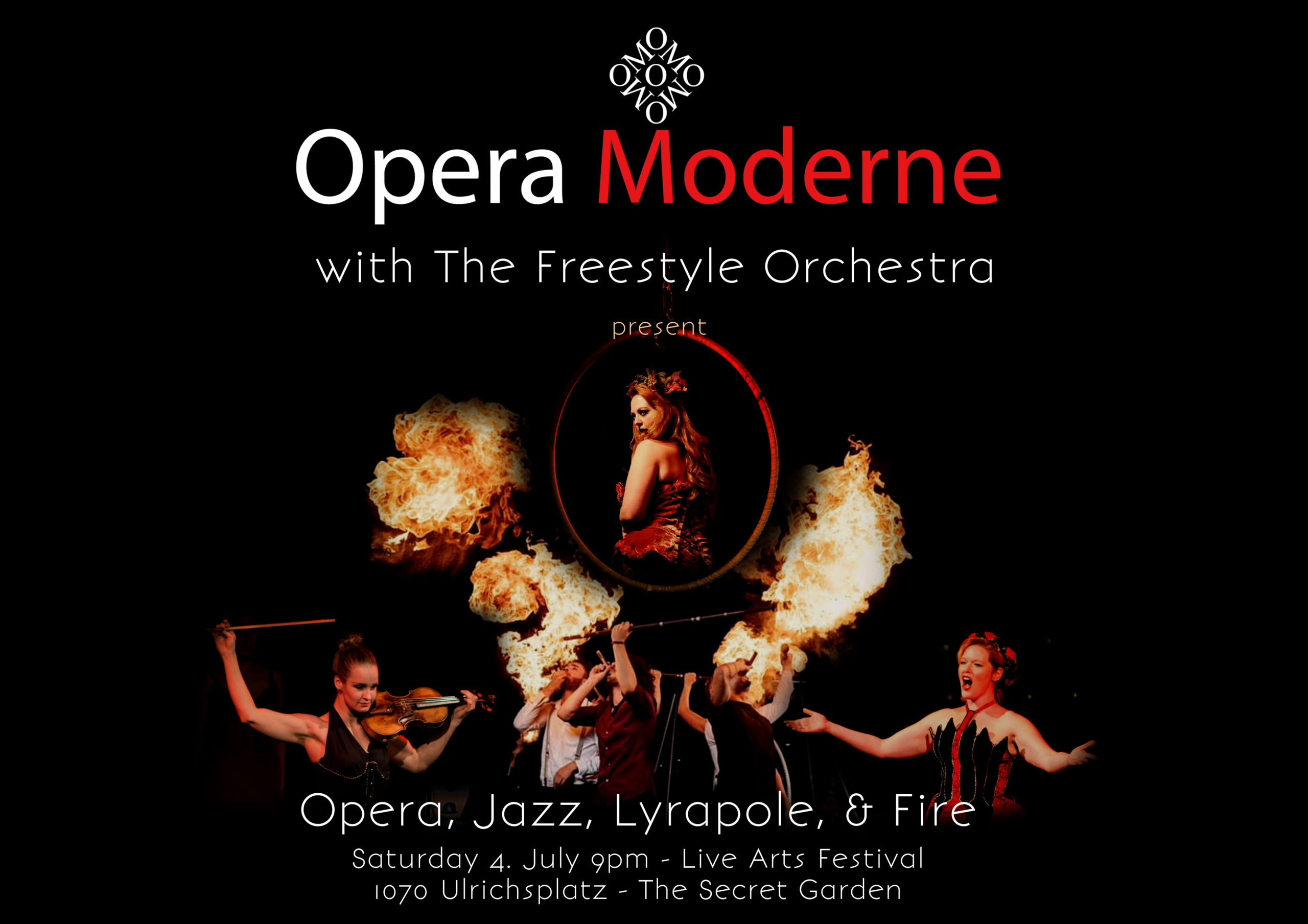 Opera, Jazz, Lyrapole & Fire - Life Art
