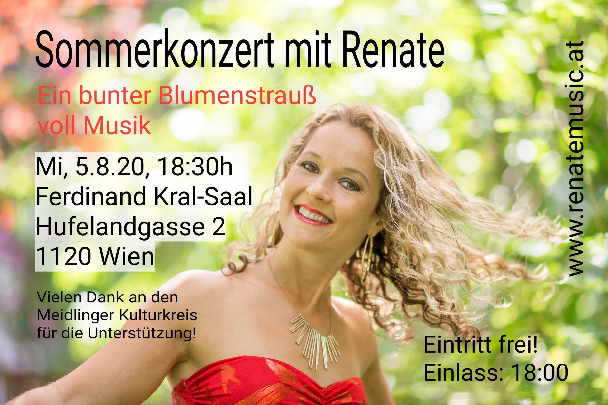 Sommerkonzert mit Renate
