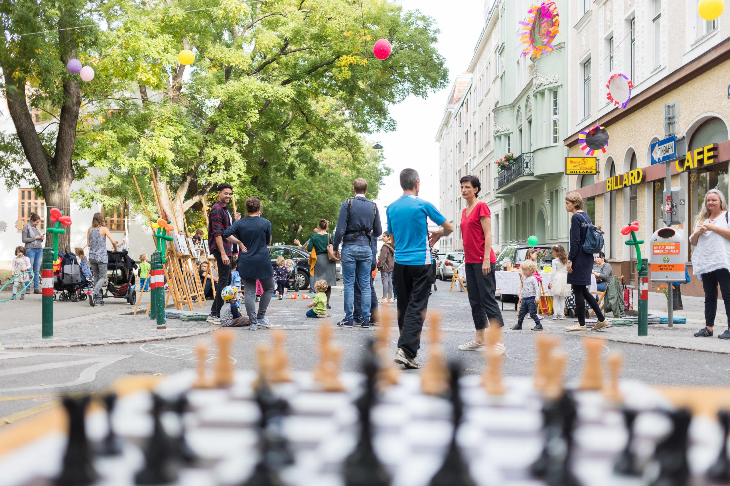 Dritter Tag der Wohnstraße
