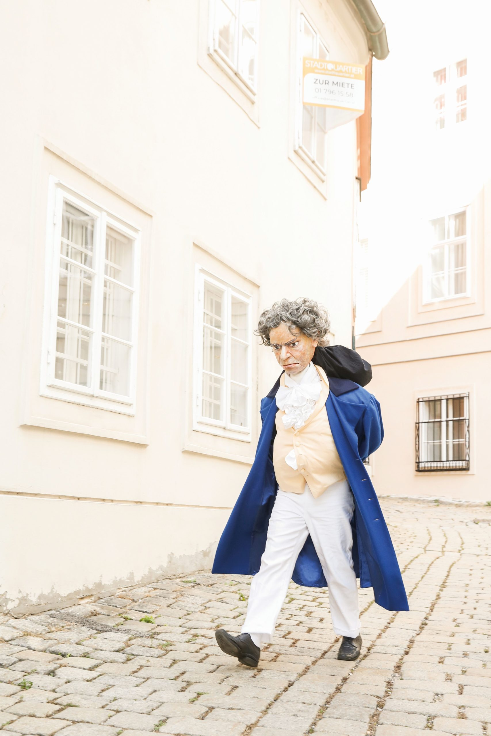 Ludwig van Beethoven der Um-Zugvogel – Premiere