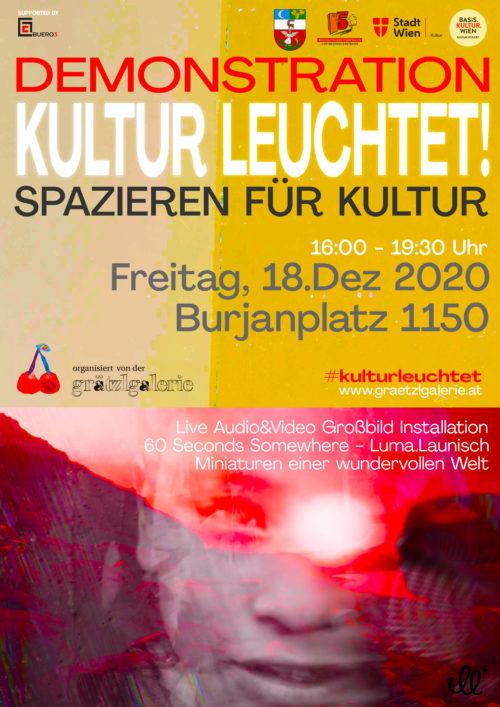 Kultur leuchtet – 60 seconds somewhere