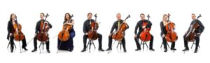Acht Cellisten by Hofer